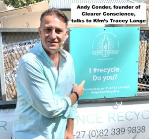 Andy Conder, founder of Clearer Conscience, talks to Kfm's Tracey Lange